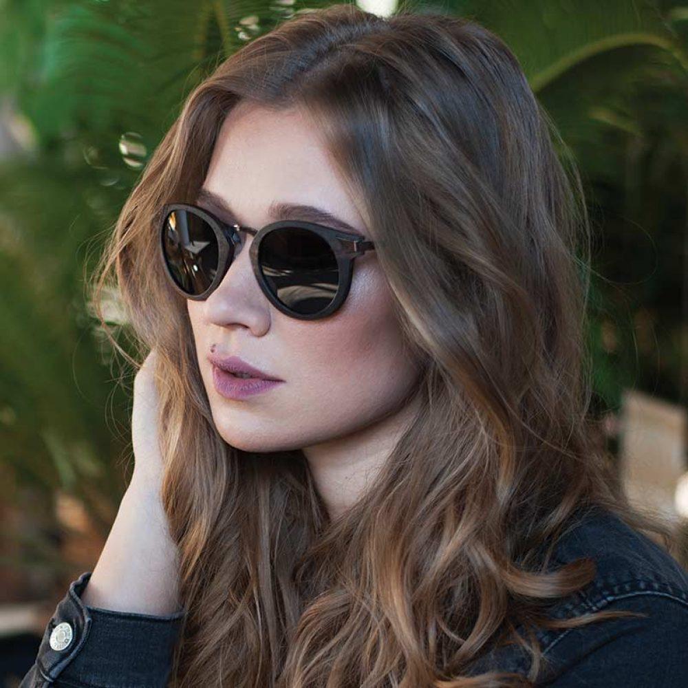 Ignis Model Sonnenbrille Holz