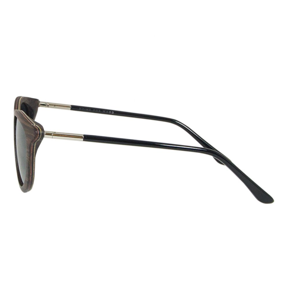Optische Sonnenbrille-ESILO(Ebenholz) von Time For Wood