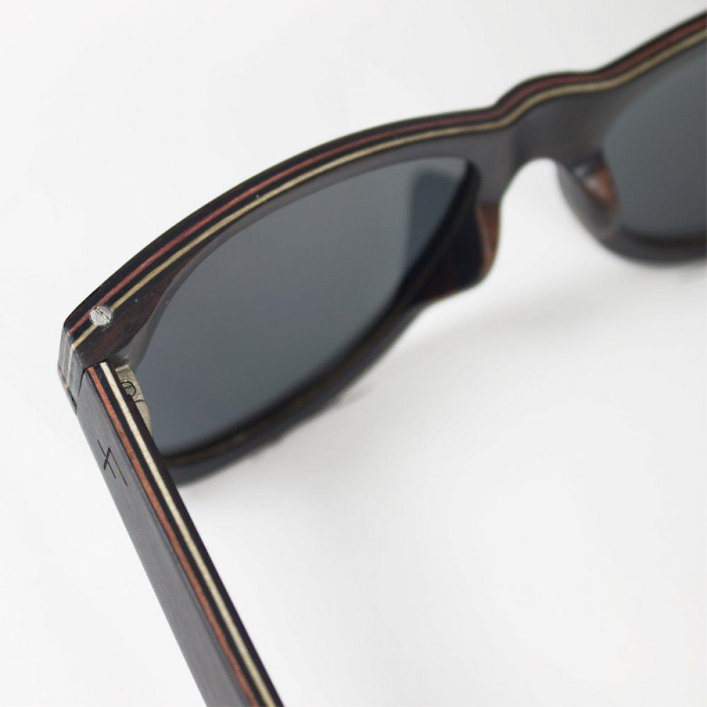 Detailfoto-Sonnenbrille Gano Time For Wood-SChraubsystem