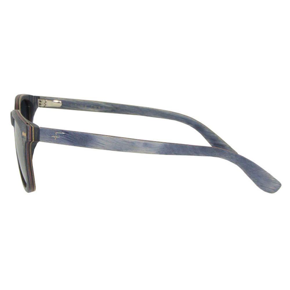 Sonnenbrille aus Holz Gioso-grauer Ahorn-optische Brille