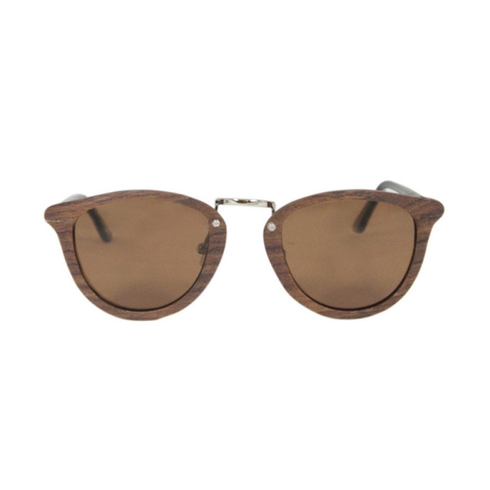 Optische Sonnenbrille aus Rosenholz von Time For Wood
