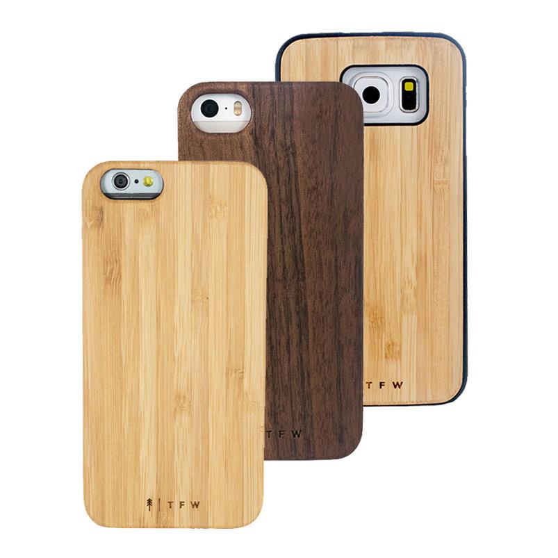 Smartphonehüllen aus Holz